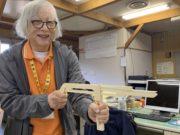 神吉先生WSは、なんと木の鉄砲!サムネイル